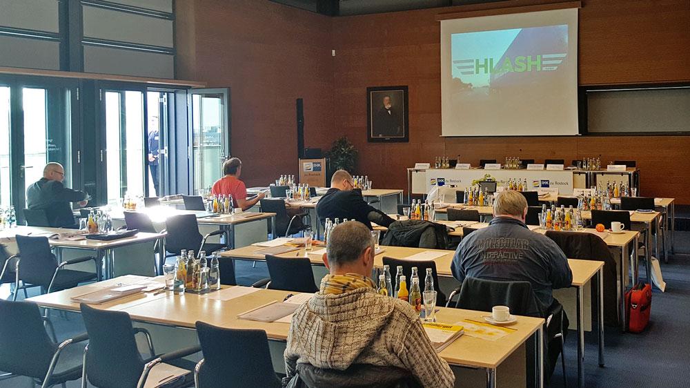 Vortragsraum beim 19. Mecklenburger Gefahrgutkongress in Rostock