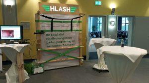 Tag der Ladungssicherung HLash Stand |Ladungssicherung im Container