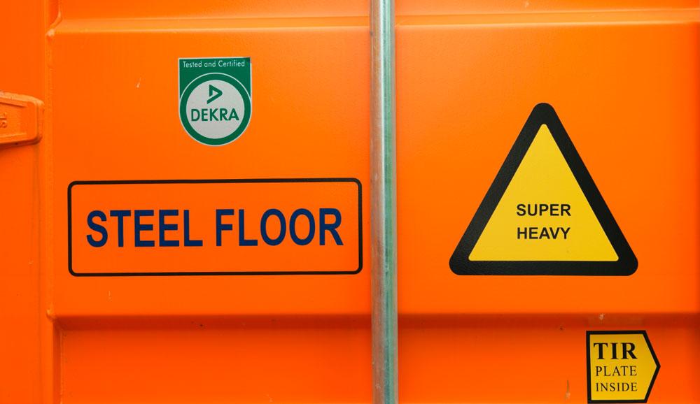 Steel Floor Container