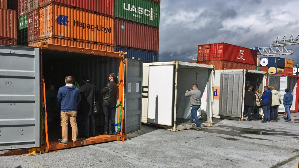 Container richtig packen Ladungssicherung im Container HLash
