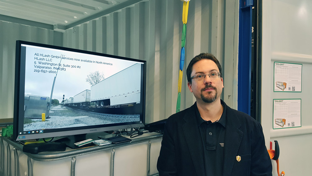 CeMAT 2018 Andreas Rainer HLash Ladungssicherung im Container