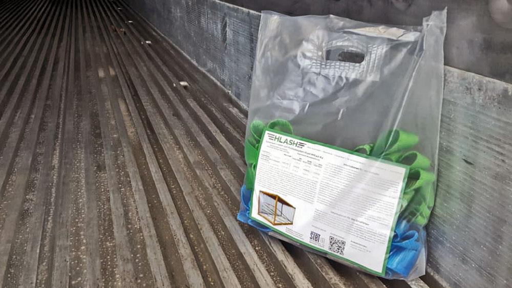 HLash Ladungssicherung System Reefer Container Tragetasche