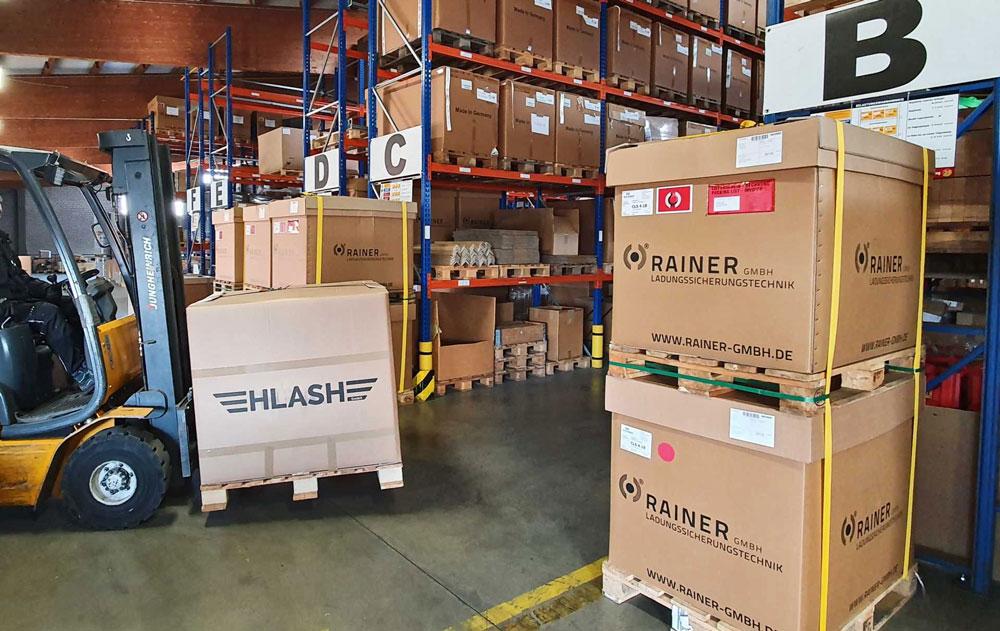 Produktion und Auslieferungen-bei-Rainer und HLash laufen weiter
