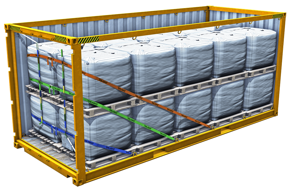 RHS Container mit BigBags