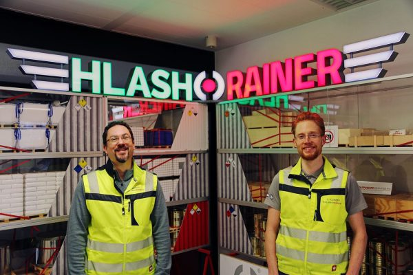 Continuing together under the name HLash & Rainer GmbH