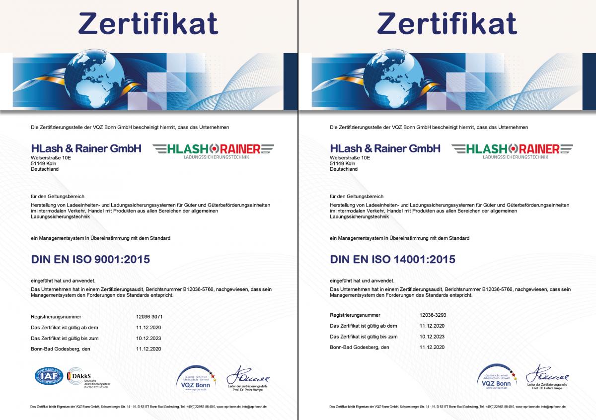 QM Zertifikate DIN ISO