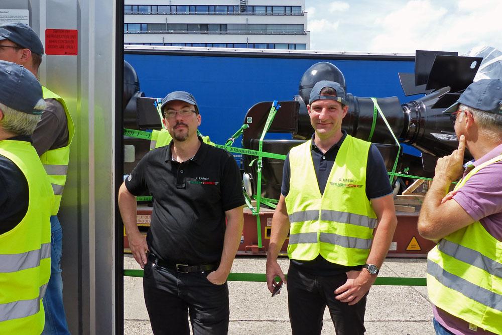 Schulung & Training Ladungssicherung im Container HLash & Rainer GmbH